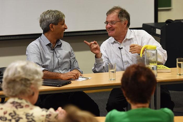 Professors Dennis Davis and Adam Habib