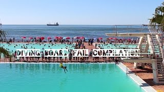 Diving Board Fail Compilation - Sea Point Pavilion Pool in Cape Town
