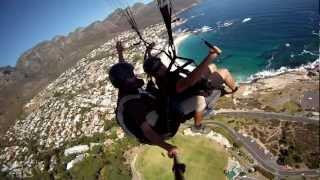 Cape Town Tandem Paragliding off Lion's Head