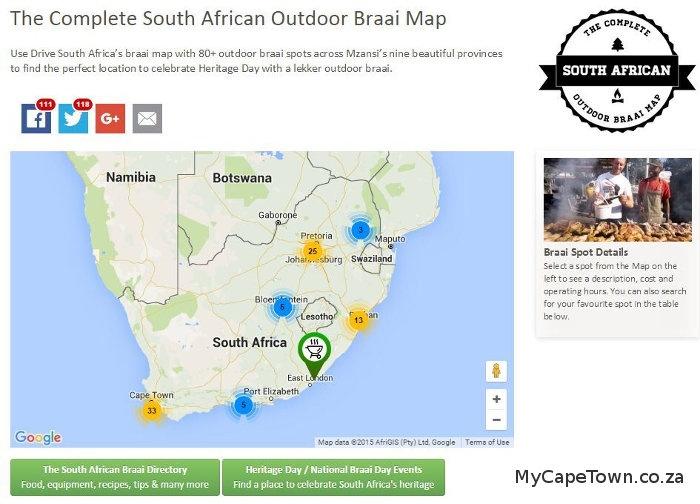 Braai Map